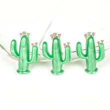 Green Cactus Icon Dekorative Beleuchtung Fairy String Light
